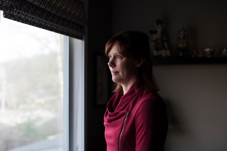 Karen Copeland, an active member of BC Parents of Special Needs Children, is photographed at her home in Abbotsford, British Columbia, Tuesday, February 2, 2016. She recently pulled out her 13-year-old son with learning disabilities from the public school system. Rafal Gerszak for The Globe and Mail