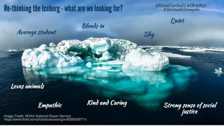Re-thinking the iceberg