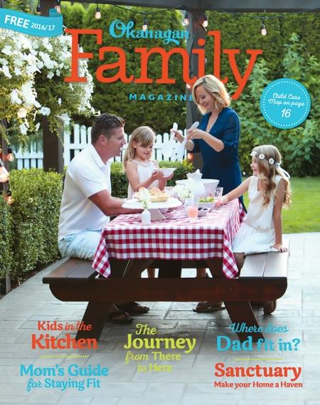 Ok Family Magazine cover